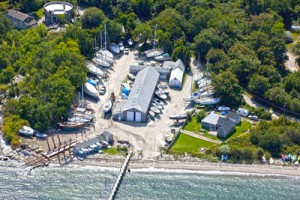 Clark Boat Yard from above
